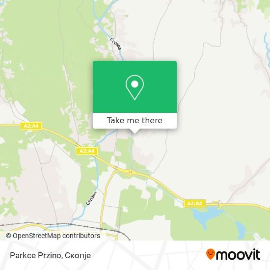Parkce Przino map