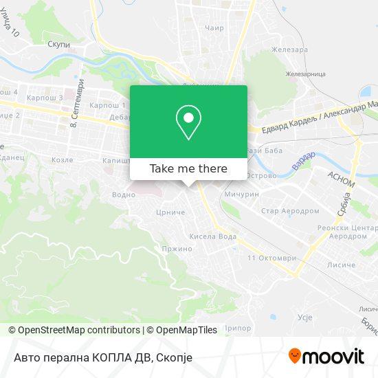 Авто перална КОПЛА ДВ map
