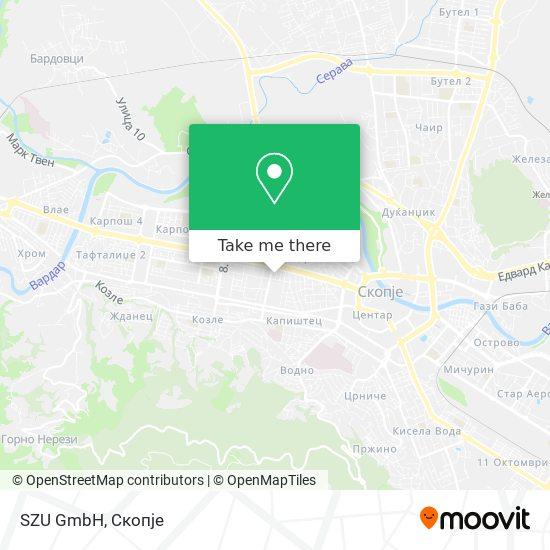 SZU GmbH map