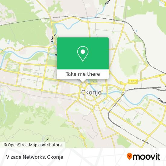 Vizada Networks map