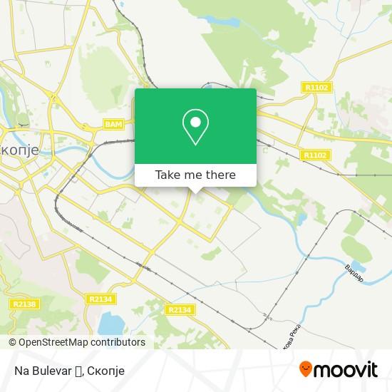 Na Bulevar 🚗 map
