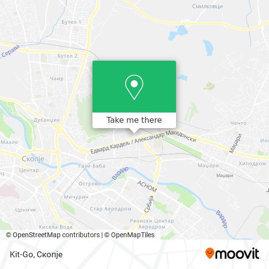 Kit-Go map