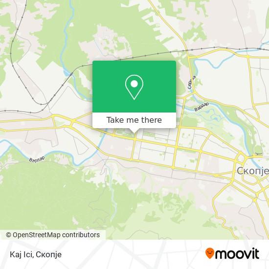 Kaj Ici map