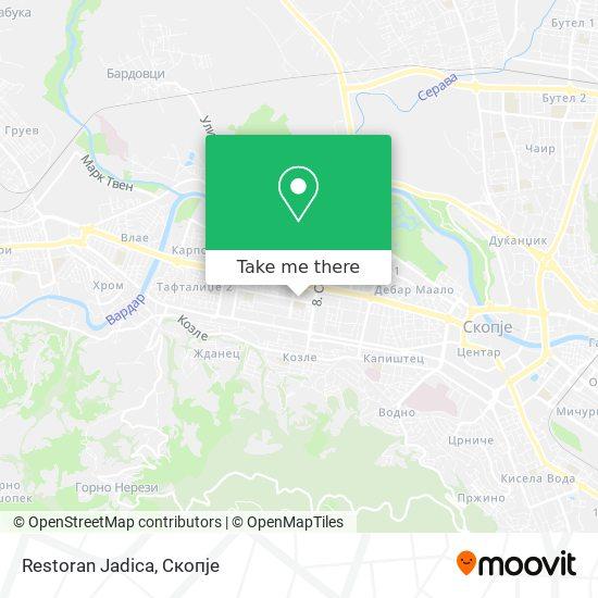 Restoran Jadica map