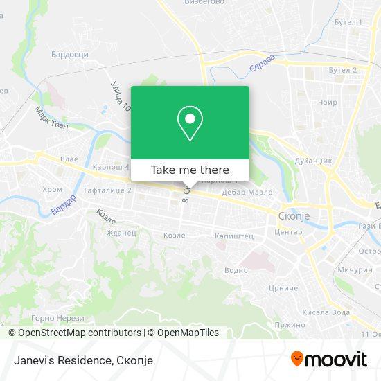 Janevi's Residence map
