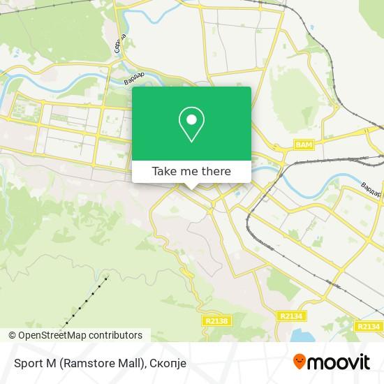 Sport M (Ramstore Mall) map