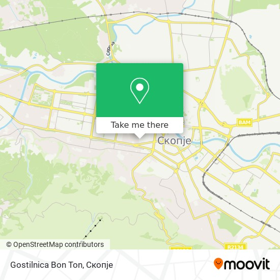 Gostilnica Bon Ton map