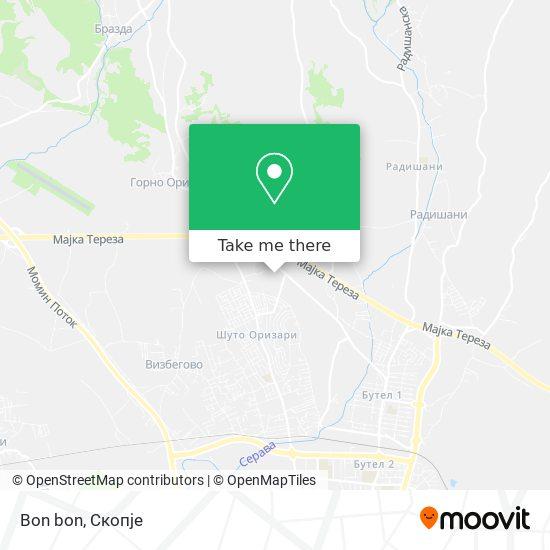 Bon bon map