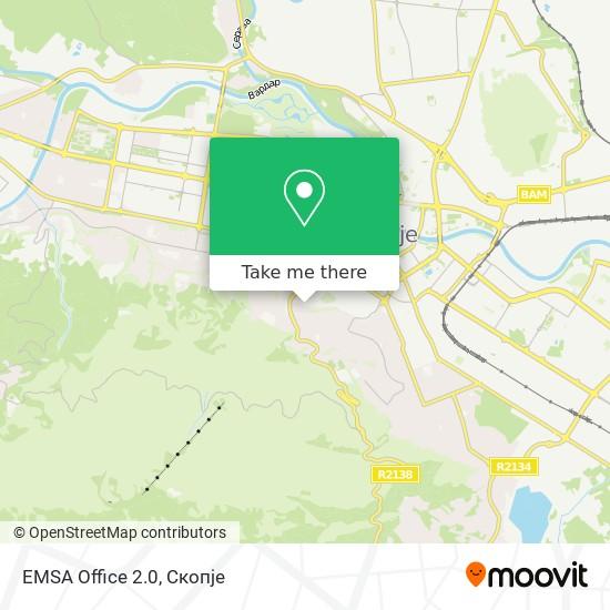 EMSA Office 2.0 map