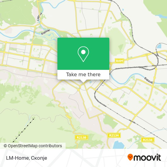 LM-Home map