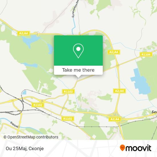 Ou 25Maj map