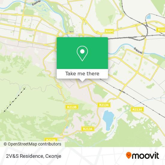 2V&S Residence map