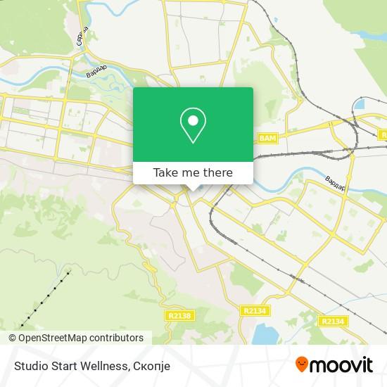 Studio Start Wellness map