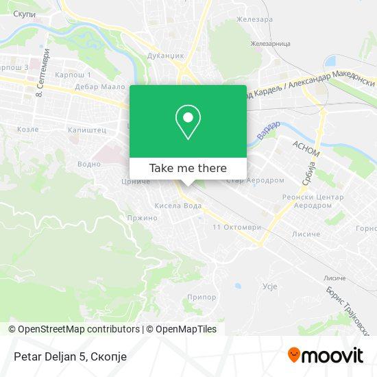 Petar Deljan 5 map