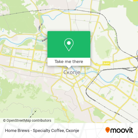 Home Brews - Specialty Coffee map