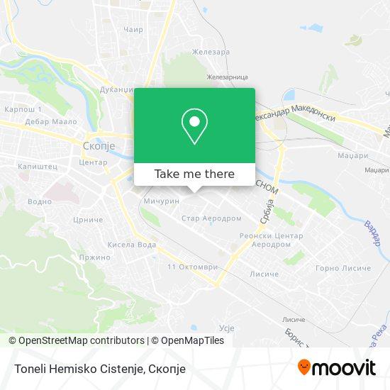 Toneli Hemisko Cistenje map