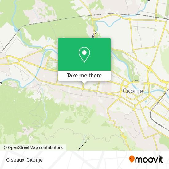 Ciseaux map