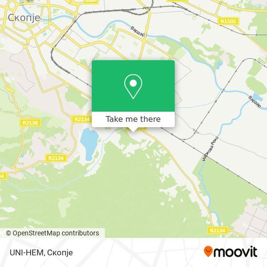 UNI-HEM map