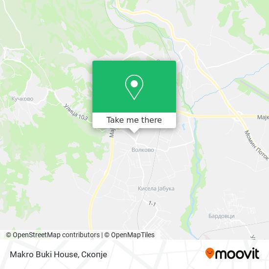 Makro Buki House map