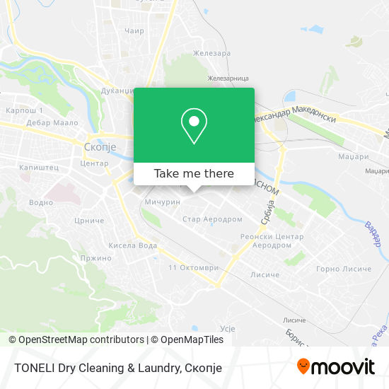 TONELI Dry Cleaning & Laundry map