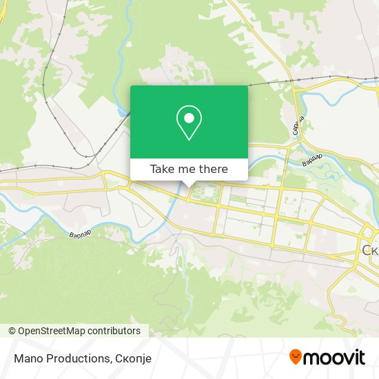 Mano Productions map