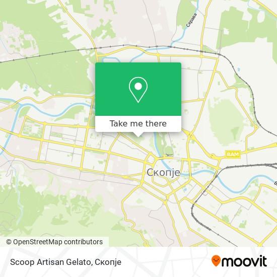 Scoop Artisan Gelato map