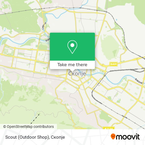 Scout (Outdoor Shop) map