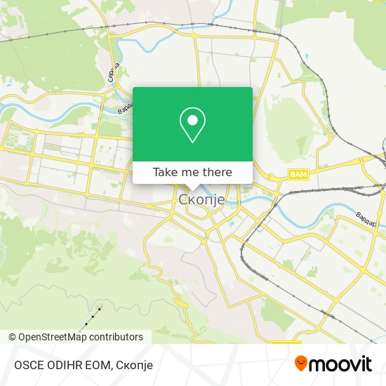 OSCE ODIHR EOM map