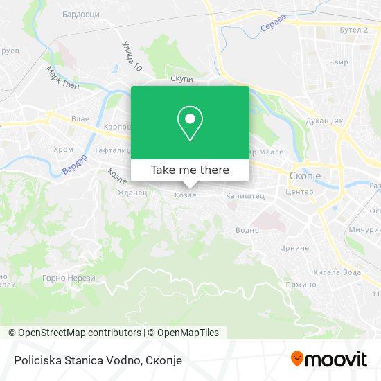 Policiska Stanica Vodno map