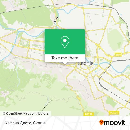Кафана Дасто map