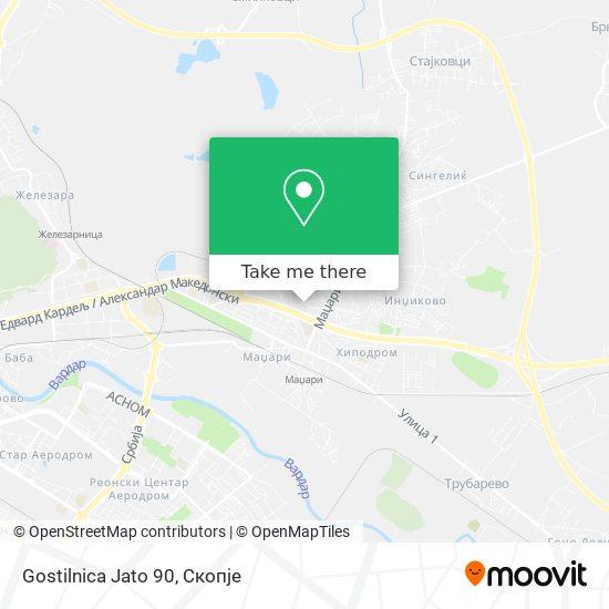 Gostilnica Jato 90 map