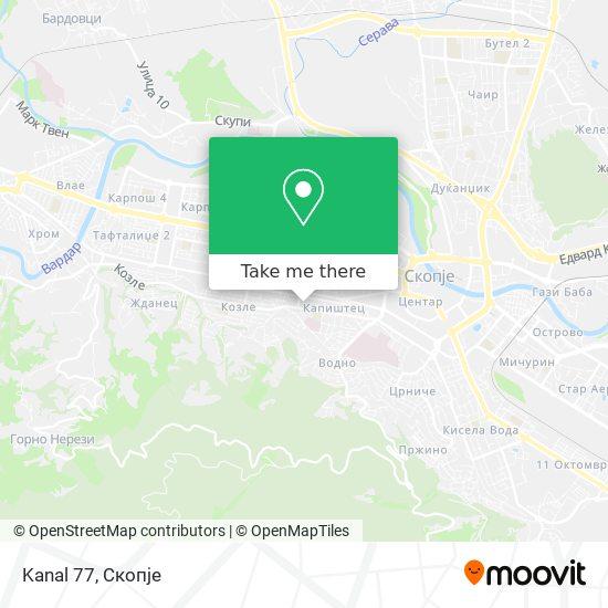 Kanal 77 map