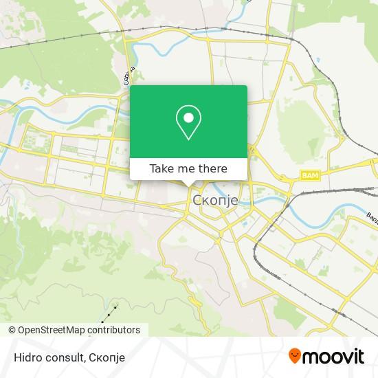 Hidro consult map