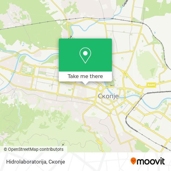 Hidrolaboratorija map
