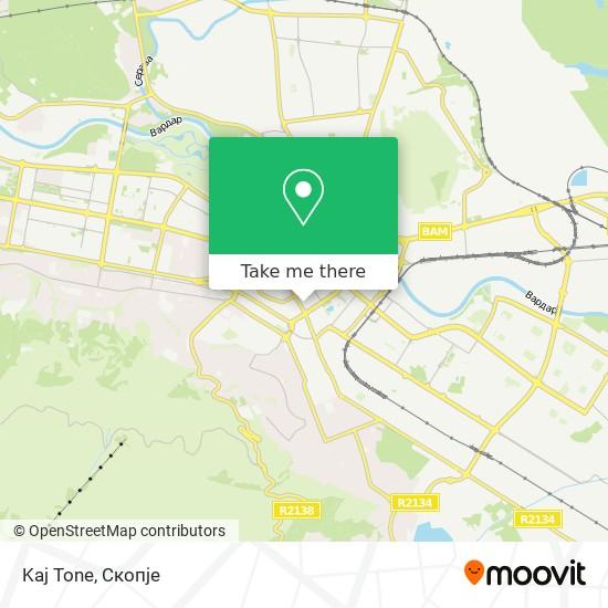 Kaj Tone map