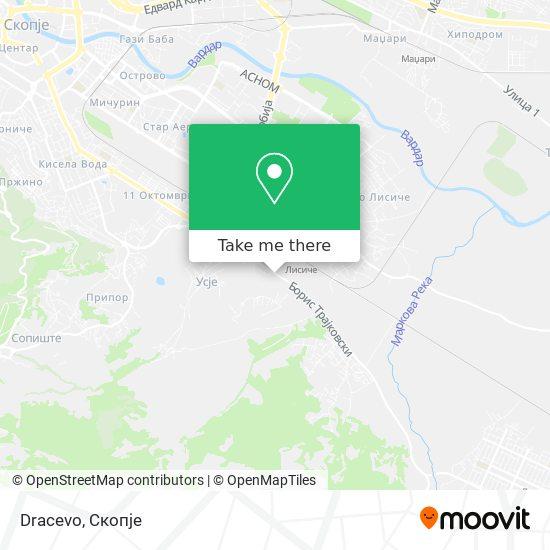 Dracevo map