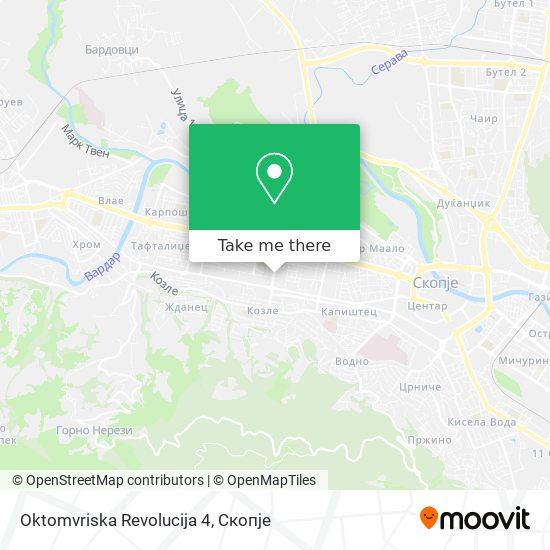 Oktomvriska Revolucija 4 map