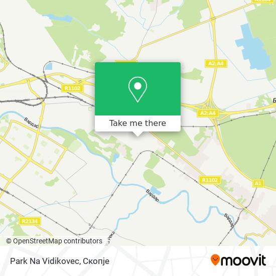 Park Na Vidikovec map