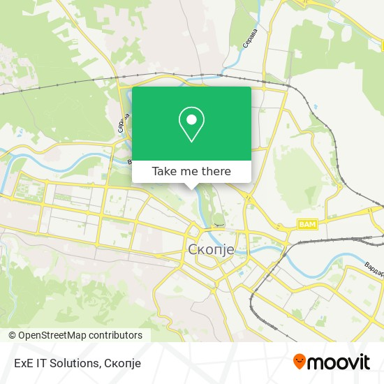 ExE IT Solutions map