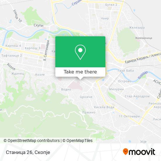 Станица 26 map