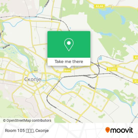 Room 105 🎀👠💄 map