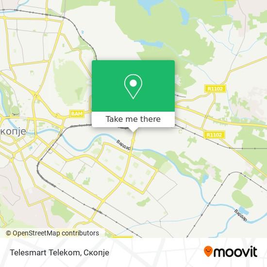 Telesmart Telekom map