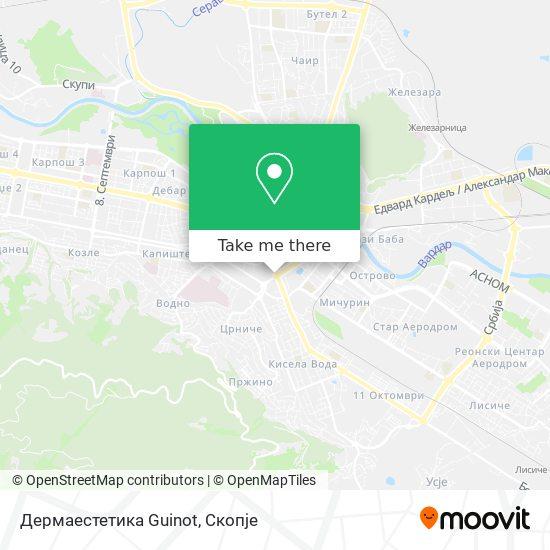 Дермаестетика Guinot map