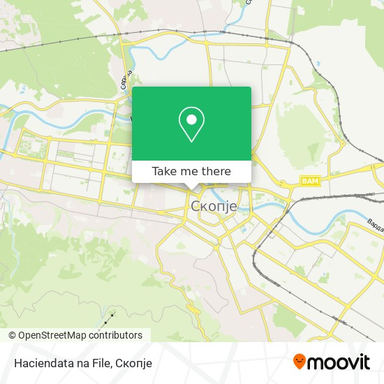 Haciendata na File map