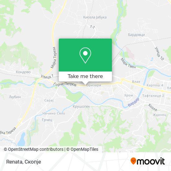 Renata map