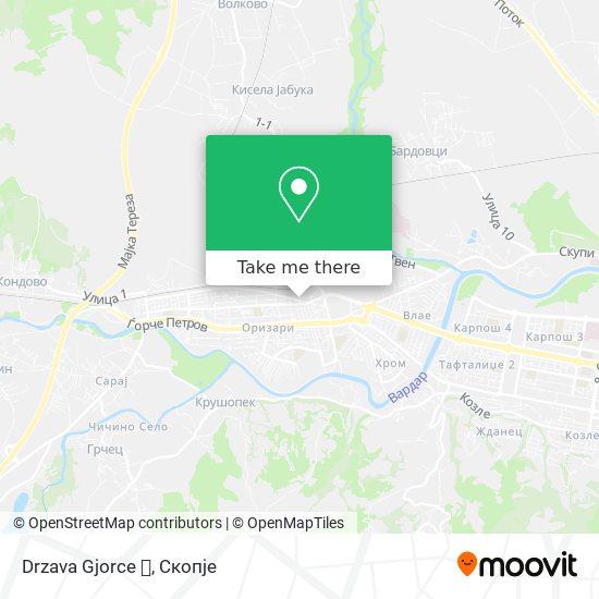 Drzava Gjorce 💪 map