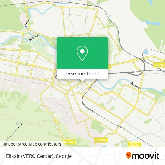 Eliksir (VERO Centar) map