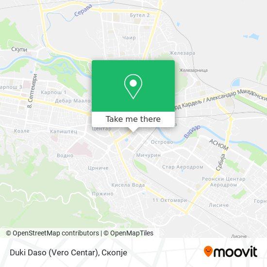 Duki Daso (Vero Centar) map