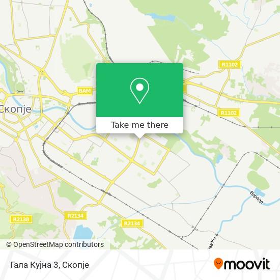 Гала Кујна 3 map