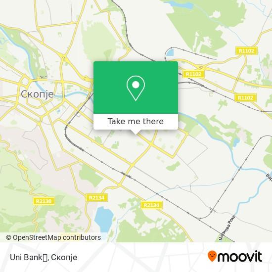 Uni Bank💰 map